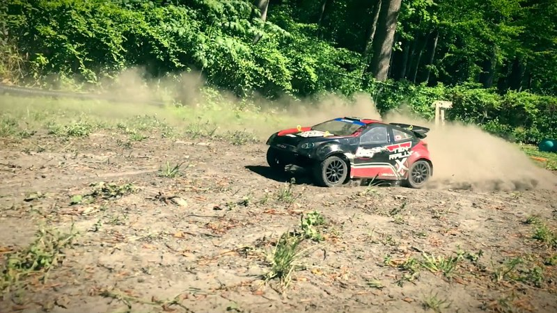 RC RALLY Losi TEN Rally 3s LiPo Bashing Dukes of Hazard Style