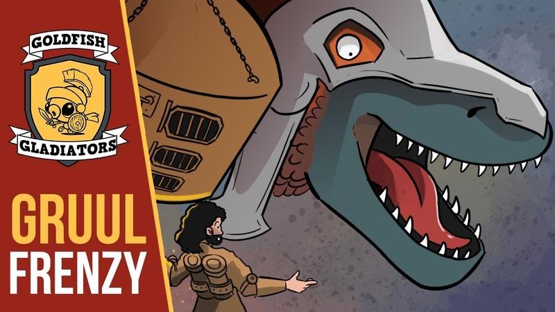Goldfish Gladiators: Gruul Frenzy (Standard, Magic Arena)