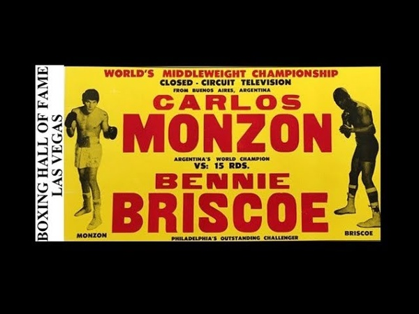 Carlos Monzon Beats Bennie Briscoe This Day November 11, 1972