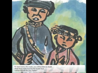 Learn English through Fairy Tales - Moa Kaikai and The Snake God