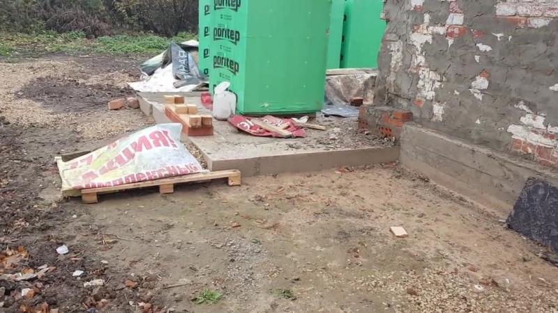 [ПРО100ЖИЗНЬ] Фундамент под пристройку готов! Превращаем старый дом в новый!