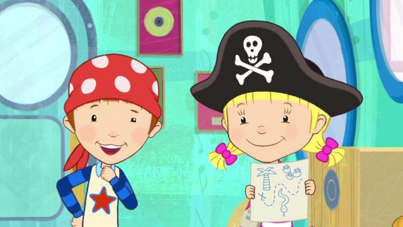 Daisy Ollie ¦ Daisy And Ollie Go On A Pirate Treasure Hunt ¦ Cartoonito UK