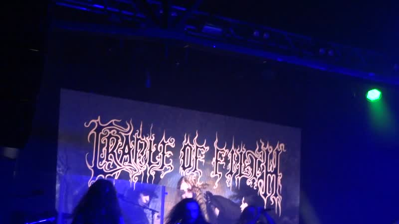 Cradle Of Filth - From the Cradle to Enslave (Москва 09.12.18)