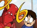Leo and Satan Battery Catastrophe Oney Cartoons