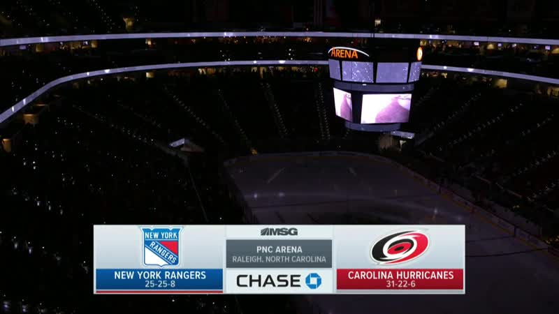 NHL 2018-2019 RS 19.02.2019 New York Rangers - Carolina Hurricanes