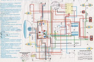 Схема электрооборудования Иж планета 5 - Мои фотографии - Фотоальбомы - Made in USSR.