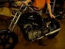 Запуск мотоцикла после переборки двигателя.