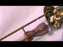 Trombone GLISSANDO Love - Free Jazz Improvisation - トロンボーングリッサンド - Dramatic Drumming