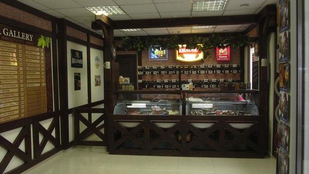 Интерьер магазина разливного пива фото