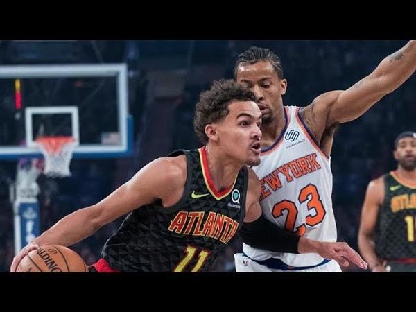 Atlanta Hawks vs New York Knicks - Full Game Highlights   Oct 17, 2018   NBA 2018-19