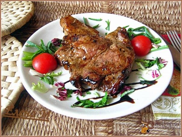 Очень вкусное блюдо, свинина получается сочная с пикантными нотками азиатской кухни.