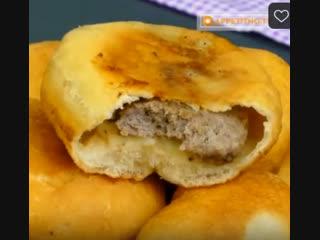 Аппетитные домашние пирожки (описание под видео)