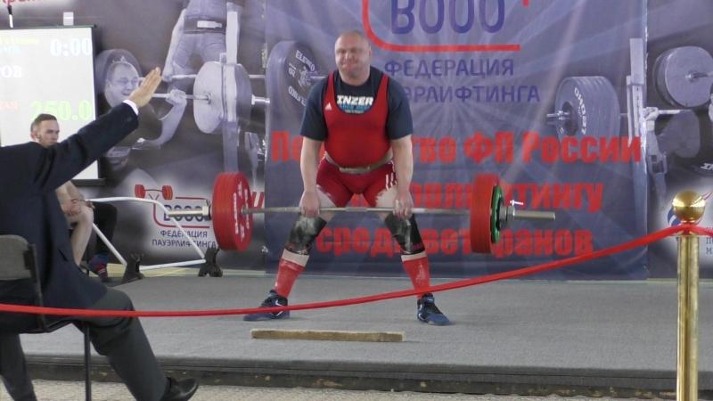 Добряков Сергей.Тяга 250