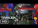 Удивительный человек-паук и Дэдпул первый трейлер рисуем мультфильмы 2