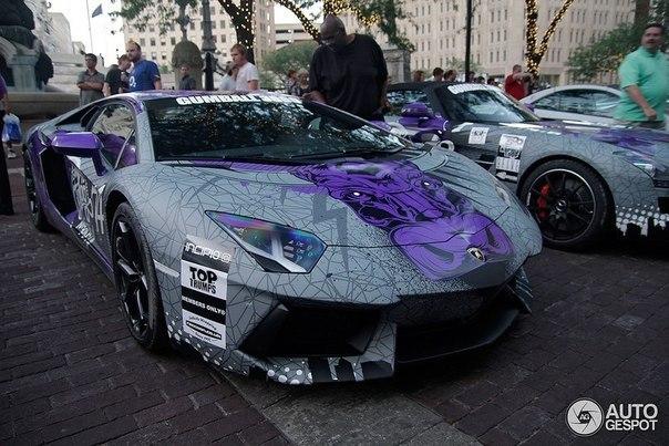 Lamborghini Aventador from GUMBALL 3000