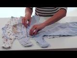 Комплект из 3-х ночных сорочек Luvable Friends для малыша