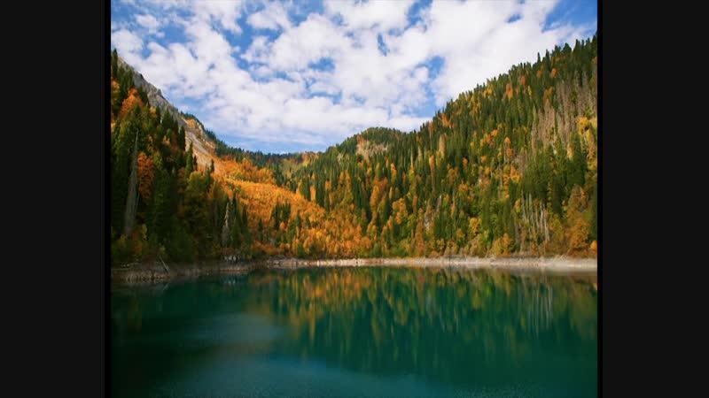 Mountains of Abkhazia / Lake small Ritsa