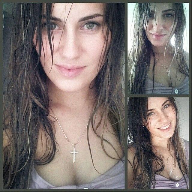Ekaterina Nikisheva with wet hair │ Image Source: Katerina Nikisheva