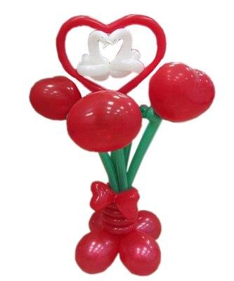 №304. Букет из шариков «Свадебное настроение»