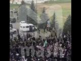 В Магасе массовые протесты и стрельба