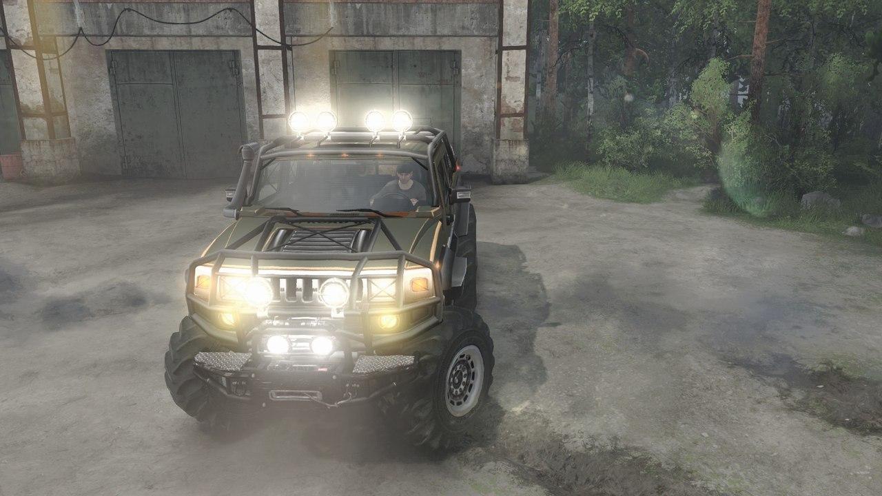 HUMMER H2 Diesel (6x6) для 03.03.16 для Spintires - Скриншот 1