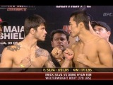 Fight Night Barueri Weigh-In: Co-Main Event Staredown