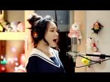 J.Fla красиво спела кавер песни Marshmello ft. Bastille - Happier
