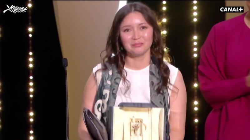 Самал Еслямова Канн кинофестивалінде (2018) Үздік актриса атанды.