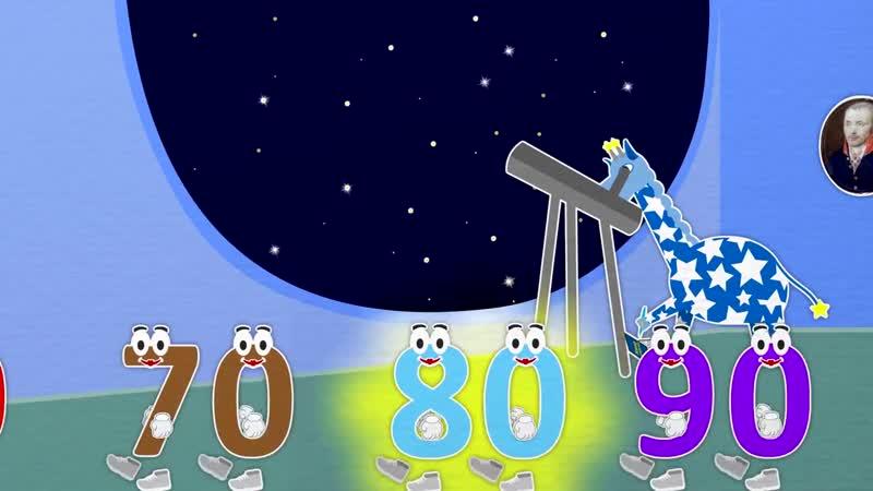 59 серия. Уроки от Пинги и Кроки. Считаем до 100