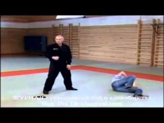 Бразильское jiu-jitsu джиу джитсу приемы на улице, видео урок jiu jitsu Ч9 Защита от угрозы оружием