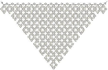 Схема плетения колье косынка