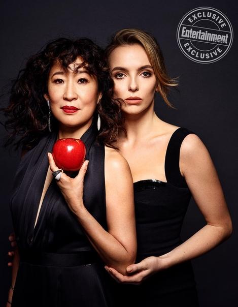 Сандра О и Джоди Комер Entertainment Weely, 2019