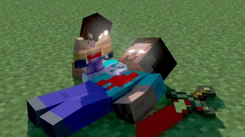 Herobrine Son's Life Minecraft Animation