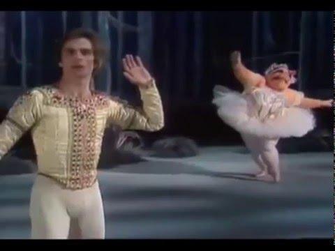 Rudolph Nureyev. Muppet Show. Рудольф Нуриев и мисс Пигги
