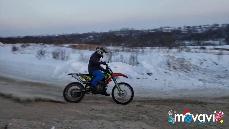 Мотокросс Глинищево тренировка 6.1.2019