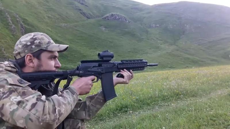 Сайга 410к стрельба на 70 и 200 метров