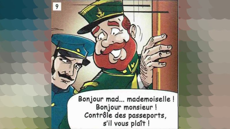 Regarde et écoute BD Français facile Niveau 3-A2/B1 - En Voyage