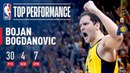 Bojan Bogdanovic Leads The Pacers To A Game 3 Victory! NBANews NBA NBAPlayoffs Pacers