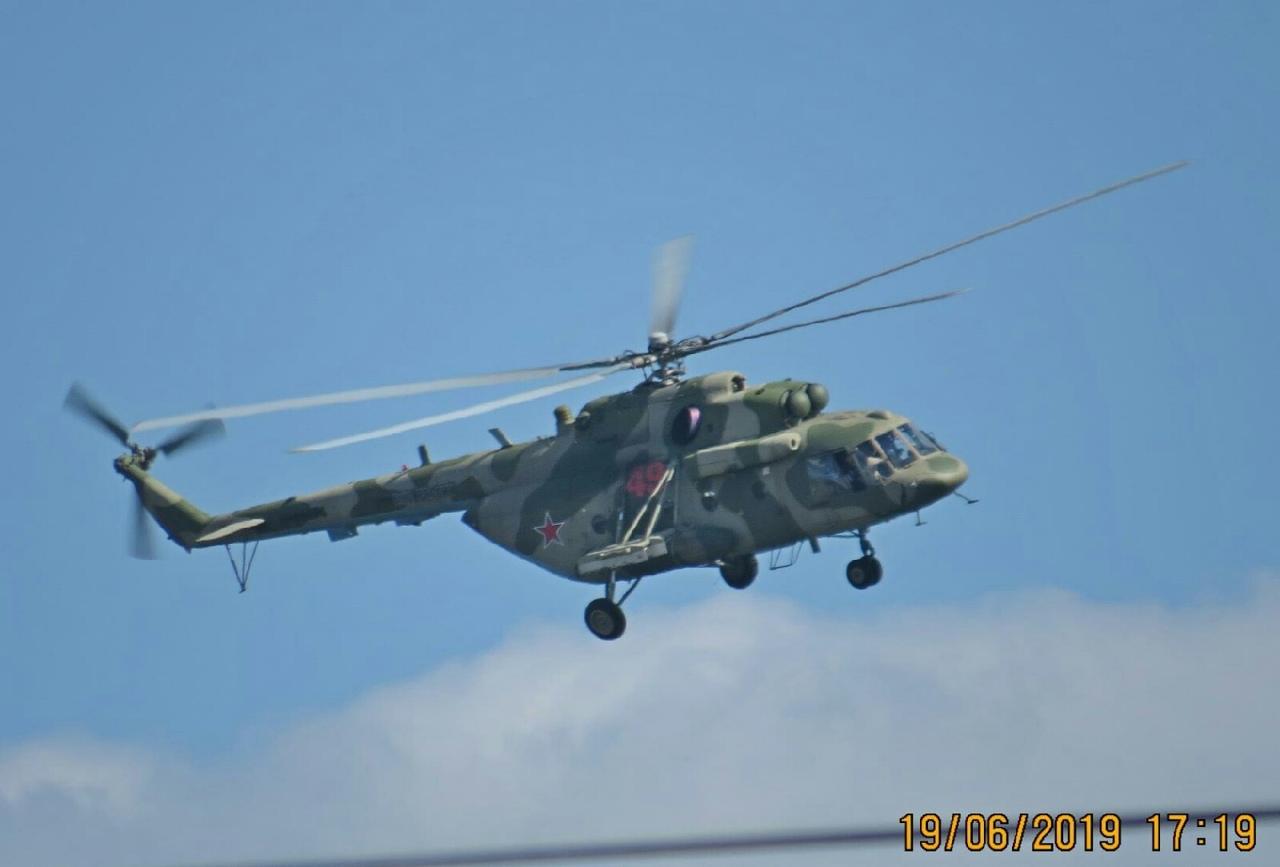 Под Смоленском вертолёты над АЭС всполошили местных жителей