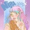 ~ NipaShop~ Big lens~ Anthocyanin ~ Geek