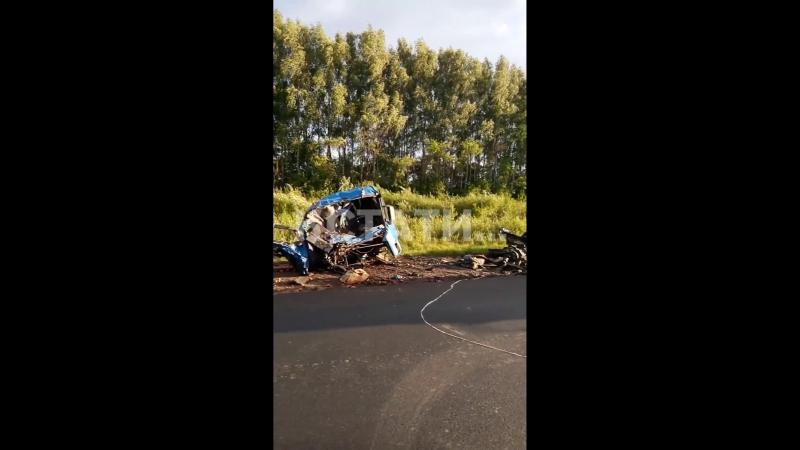 авария в Воротынском районе, с. Чугуны 21.08.2018