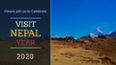 Please join us to celebrate Visit Nepal Year 2020