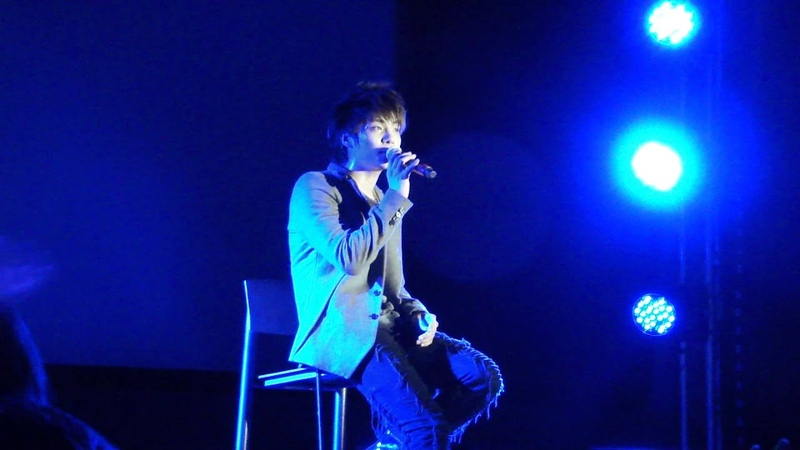 [HD fancam] 111103 SHINee in London - (4) JongHyun Solo: Nothing Better