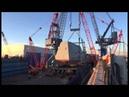 Reed Reed Crane Services - Bath Iron Works 900-ton Deckhouse Mega Lift