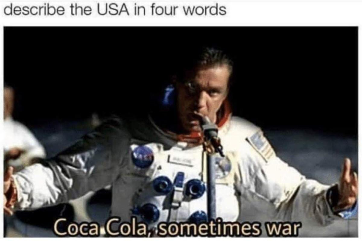 Опишите США в 4 словах