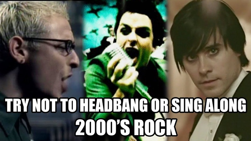 TRY NOT TO HEADBANG OR SING ALONG 2000's ROCK