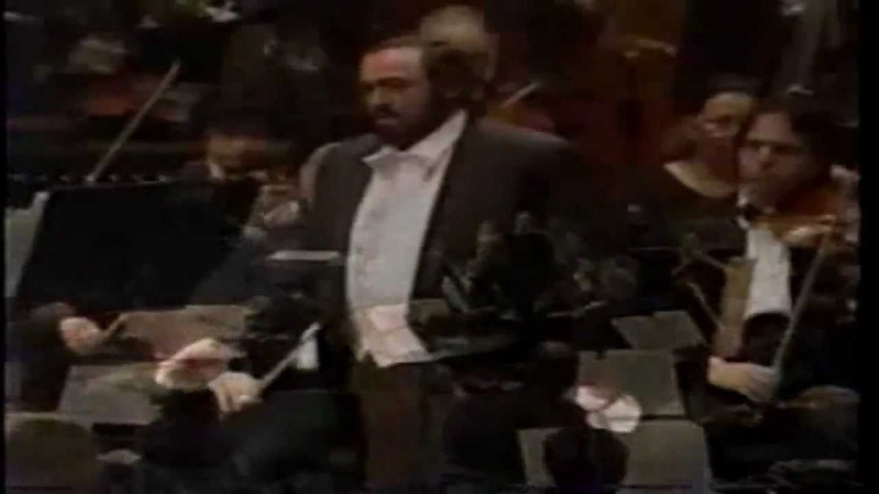 MARIO LANZA and PAVAROTTI TOGETHER ( SINGS Lamento )