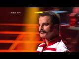 Один в один! Виталий Гогунский - Freddie Mercury (The show must go on)