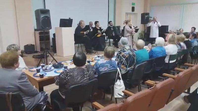 1 октября 2018года- миниконцерт солистов Республиканской Филармонии для ветерановтруда ГУ РДКБ