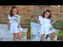 Vestido ibicenco. Revista patrones infantiles n º 4